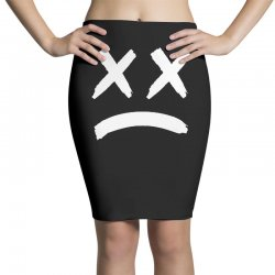 lil peep sad face Pencil Skirts | Artistshot