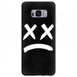 lil peep sad face Samsung Galaxy S8 Plus Case | Artistshot
