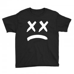 lil peep sad face Youth Tee | Artistshot
