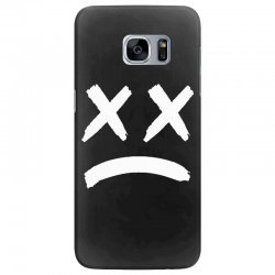lil peep sad face Samsung Galaxy S7 Edge Case | Artistshot
