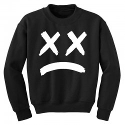 lil peep sad face Youth Sweatshirt | Artistshot