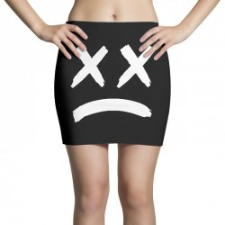 lil peep sad face Mini Skirts | Artistshot