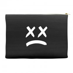 lil peep sad face Accessory Pouches | Artistshot