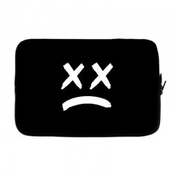 lil peep sad face Laptop sleeve | Artistshot