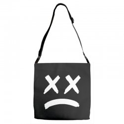 lil peep sad face Adjustable Strap Totes | Artistshot
