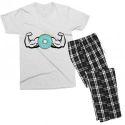 donuts strong Men's T-shirt Pajama Set | Artistshot