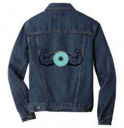 donuts strong Men Denim Jacket | Artistshot