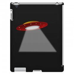 ufo flying saucer flying disc alien iPad 3 and 4 Case | Artistshot