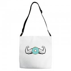 donuts strong Adjustable Strap Totes | Artistshot