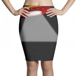 ufo flying saucer flying disc alien Pencil Skirts | Artistshot