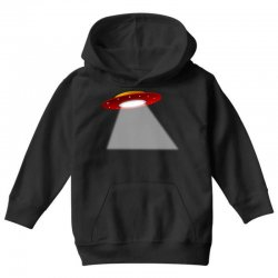 ufo flying saucer flying disc alien Youth Hoodie | Artistshot