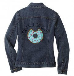 donut squad Ladies Denim Jacket | Artistshot