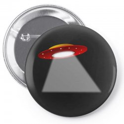 ufo flying saucer flying disc alien Pin-back button | Artistshot