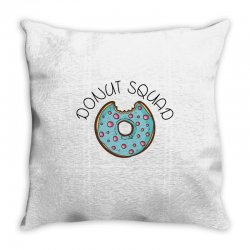 donut squad Throw Pillow | Artistshot