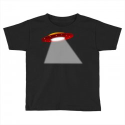 ufo flying saucer flying disc alien Toddler T-shirt | Artistshot