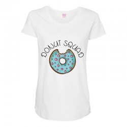 donut squad Maternity Scoop Neck T-shirt | Artistshot