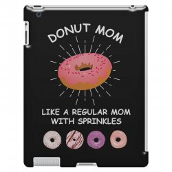 donut mom like a regular mom with sprinkles iPad 3 and 4 Case | Artistshot