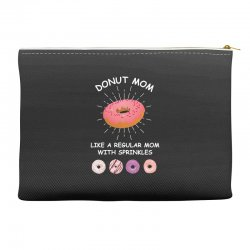 donut mom like a regular mom with sprinkles Accessory Pouches | Artistshot