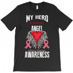 my hero is now my angel celiac disease awareness T-Shirt | Artistshot