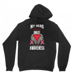 my hero is now my angel celiac disease awareness Unisex Hoodie | Artistshot