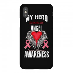 my hero is now my angel celiac disease awareness iPhoneX Case | Artistshot