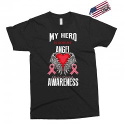 my hero is now my angel celiac disease awareness Exclusive T-shirt | Artistshot