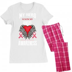 my hero is now my angel celiac disease awareness Women's Pajamas Set | Artistshot