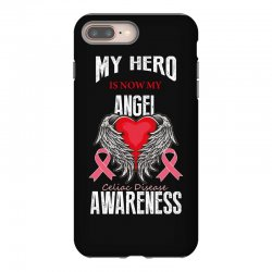 my hero is now my angel celiac disease awareness iPhone 8 Plus Case | Artistshot