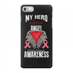 my hero is now my angel celiac disease awareness iPhone 7 Case | Artistshot