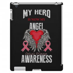 my hero is now my angel celiac disease awareness iPad 3 and 4 Case | Artistshot