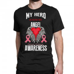 my hero is now my angel celiac disease awareness Classic T-shirt | Artistshot