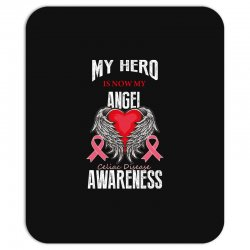 my hero is now my angel celiac disease awareness Mousepad | Artistshot