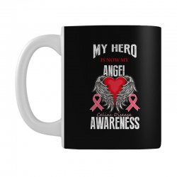 my hero is now my angel celiac disease awareness Mug | Artistshot