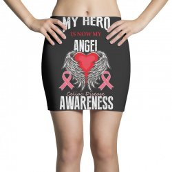 my hero is now my angel celiac disease awareness Mini Skirts | Artistshot