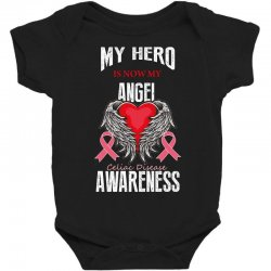 my hero is now my angel celiac disease awareness Baby Bodysuit | Artistshot