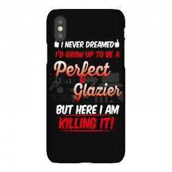 i never dreamed i'd grow up to be a perfect glazies but here i am kill iPhoneX Case | Artistshot