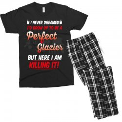 i never dreamed i'd grow up to be a perfect glazies but here i am kill Men's T-shirt Pajama Set | Artistshot