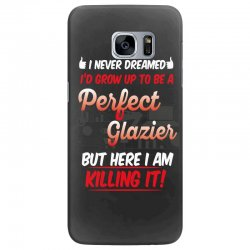 i never dreamed i'd grow up to be a perfect glazies but here i am kill Samsung Galaxy S7 Edge Case | Artistshot