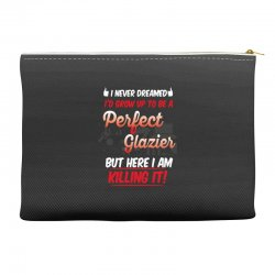 i never dreamed i'd grow up to be a perfect glazies but here i am kill Accessory Pouches | Artistshot