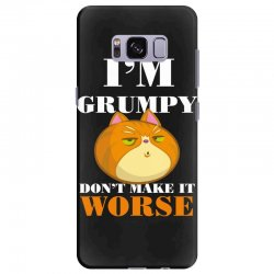 i'm grumpy don't make it worse Samsung Galaxy S8 Plus Case | Artistshot