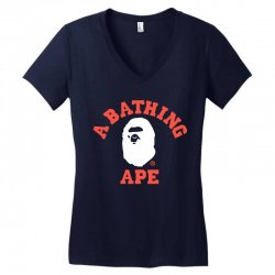 a bathing ape Women's V-Neck T-Shirt | Artistshot