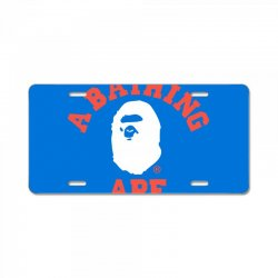 a bathing ape License Plate | Artistshot