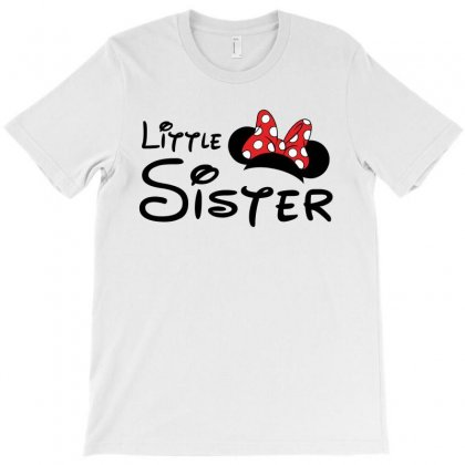 Little Sister Minnie T-shirt Designed By Toweroflandrose