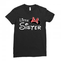 little sister minnie Ladies Fitted T-Shirt | Artistshot