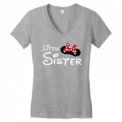 little sister minnie Women's V-Neck T-Shirt | Artistshot