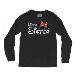 little sister minnie Long Sleeve Shirts | Artistshot