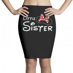 little sister minnie Pencil Skirts | Artistshot