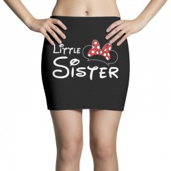 little sister minnie Mini Skirts | Artistshot