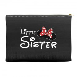little sister minnie Accessory Pouches | Artistshot