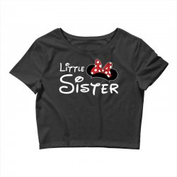 little sister minnie Crop Top | Artistshot